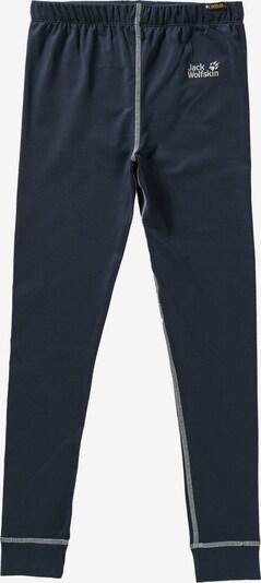 JACK WOLFSKIN Skiunterwäsche 'DRY ´N COSY' in blau, Produktansicht