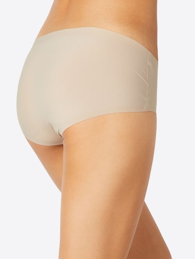 SCHIESSER Panty 'Invisible Cotton' in nude: Rückansicht