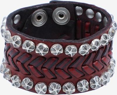 Campomaggi Armband in de kleur Roestbruin / Zilver, Productweergave