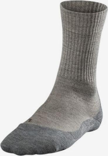 FALKE Sportsocken in beige / grau, Produktansicht