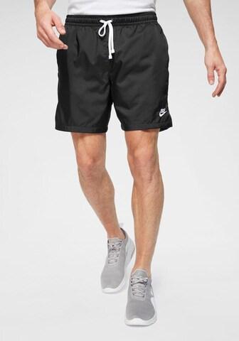 Nike Sportswear Spodnie funkcyjne w kolorze czarny