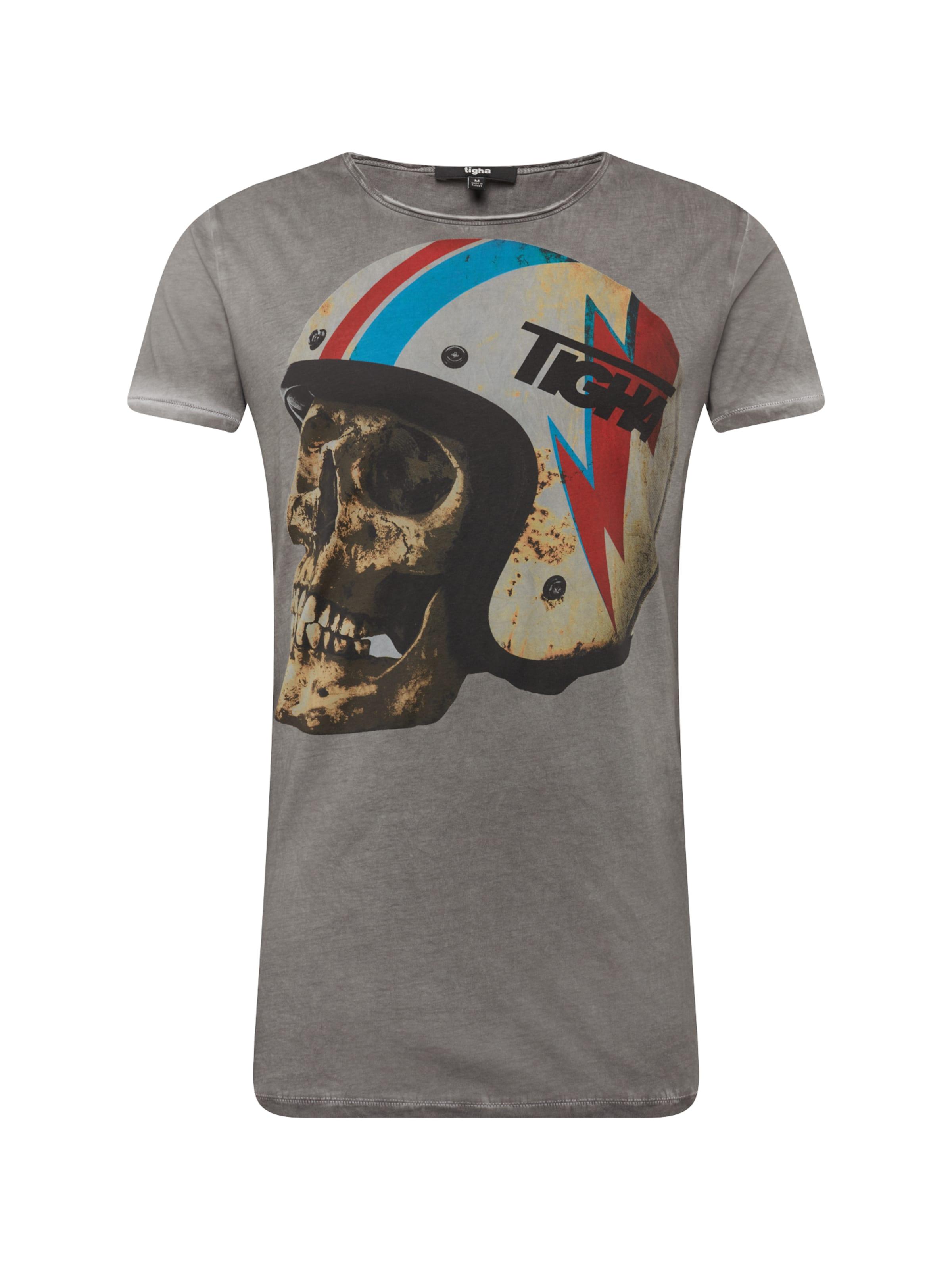 'dead GrisMélange shirt T Head Msn' De Couleurs Tigha En OPXlwkiuTZ
