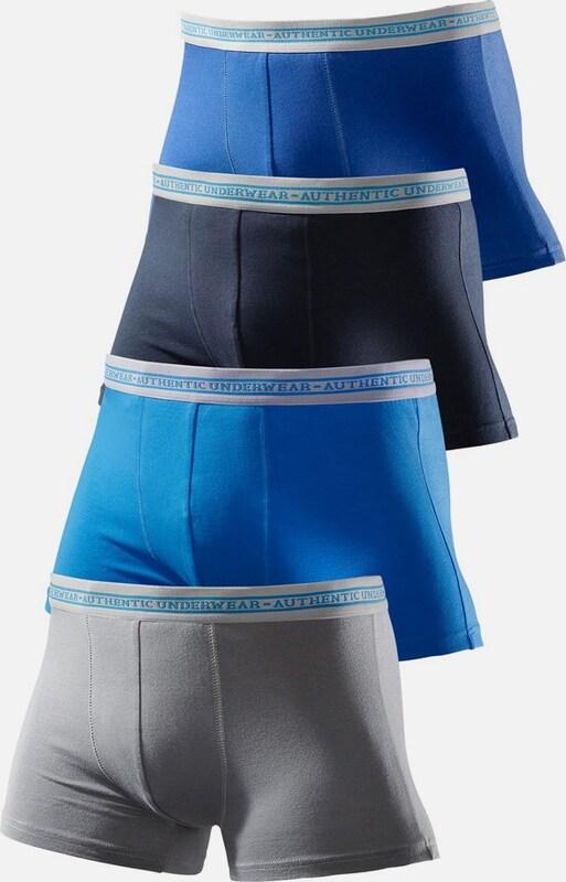 LE JOGGER Baumwoll-Boxer, Authentic Underwear (4 Stck.)