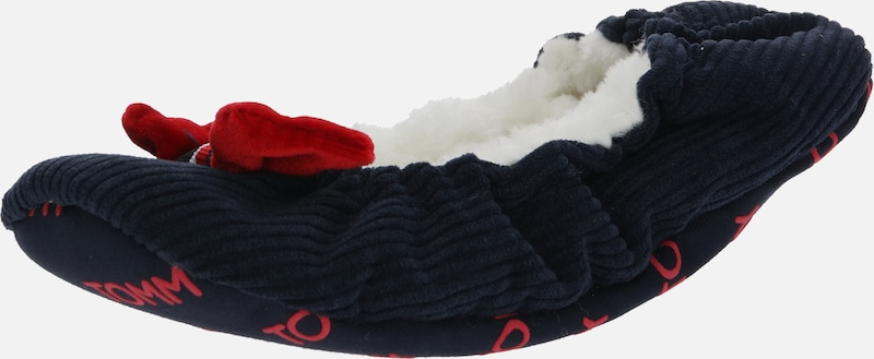 TOMMY HILFIGER Slipper 'ROUND TRAVEL PACK' in dunkelblau, Produktansicht
