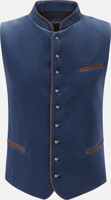 STOCKERPOINT Weste Ricardo in dunkelblau  Mode neue Kleidung