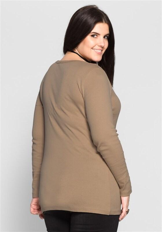 sheego casual Klassisches Longshirt