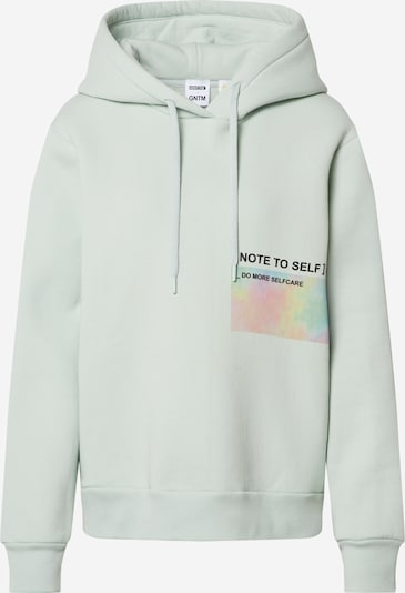ABOUT YOU x GNTM Hoodie 'Jamie' in mint, Produktansicht