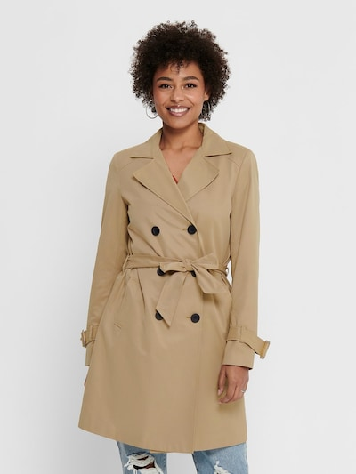 ONLY Trenchcoat in beige, Modelansicht