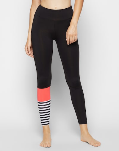 Hey Honey Leggings in pink / schwarz: Frontalansicht