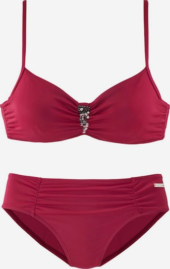 LASCANA Bikini en framboise, Vue avec produit