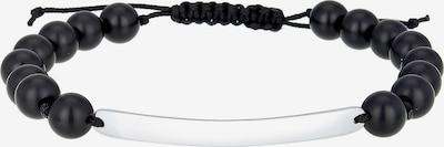 PAULO FANELLO Armband in de kleur Zwart / Zilver, Productweergave