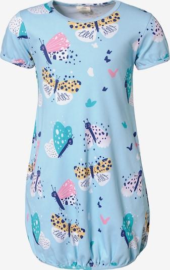 Walkiddy Kleid in hellblau / mischfarben, Produktansicht