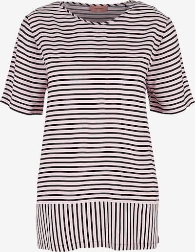 TRIANGLE Bluse in rosa / schwarz / weiß, Produktansicht