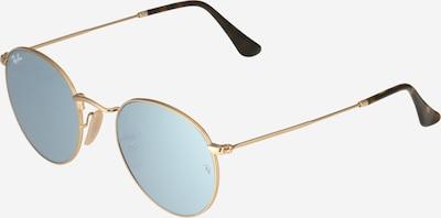 Ray-Ban Sonnenbrille 'Round' in gold / grau, Produktansicht