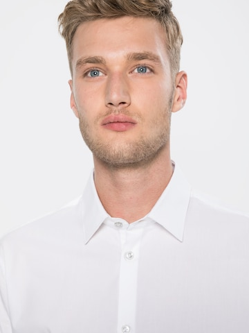 Esprit Collection Triiksärk 'N sol strtc LS', värv valge