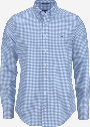 GANT Košeľa 'Gingham' - svetlomodrá / biela, Produkt