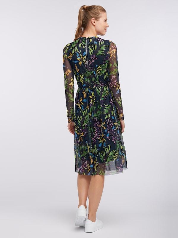 Couleurs Nyc Vert Robe Broadway 'nykia' En De Fashion FoncéMélange Rjcq35AL4
