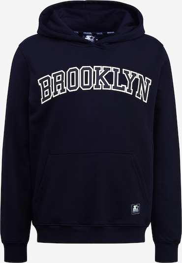 Starter Black Label Sweatshirt 'Starter Brooklyn Hoody' in schwarz, Produktansicht