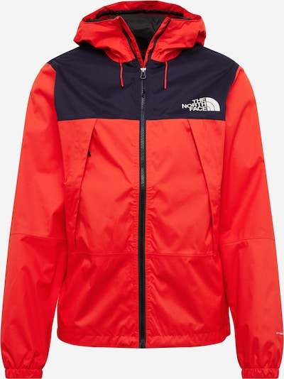 THE NORTH FACE Jacke 'Mountain Q' in hellrot / schwarz, Produktansicht