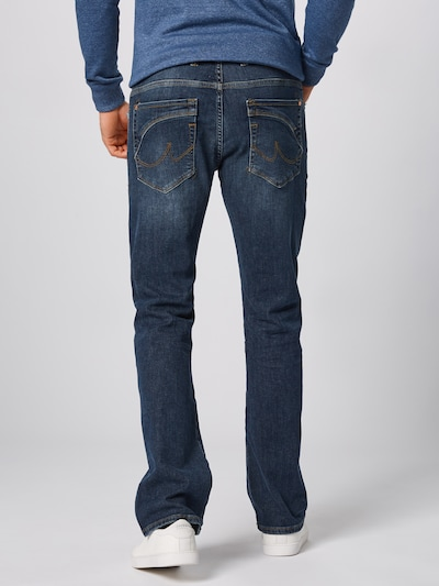 LTB Jeans 'Roden' in de kleur Blauw denim: Achteraanzicht