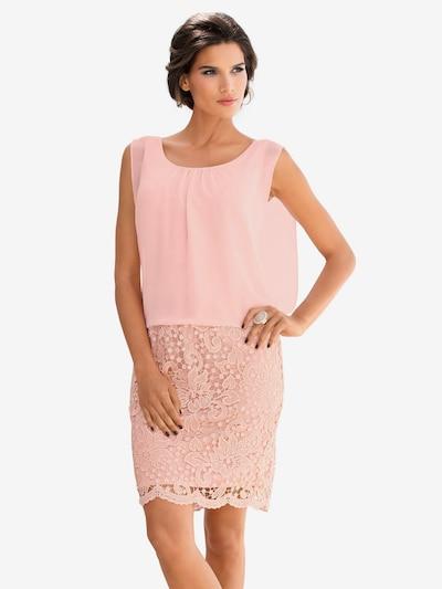 heine Spitzenkleid in rosa, Modelansicht