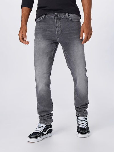 Only & Sons Jeans 'ONSLOOM' i grey denim, Modelvisning