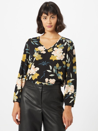 ONLY Shirt 'Vic' in gold / schwarz, Modelansicht