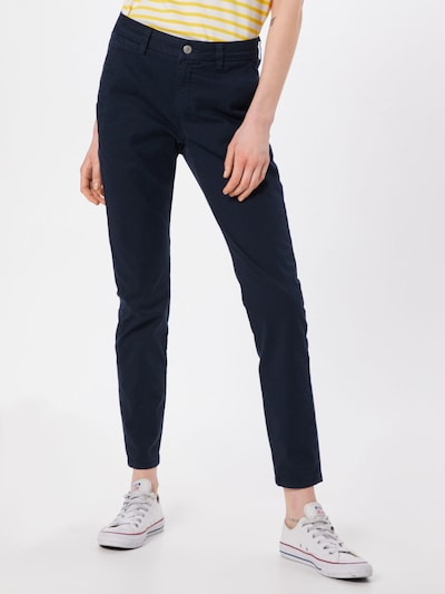 SELECTED FEMME Chino in de kleur Navy, Modelweergave