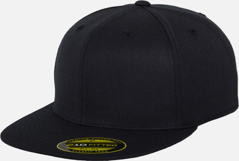 Flexfit Premium 210 Fitted Cap in navy: Frontalansicht
