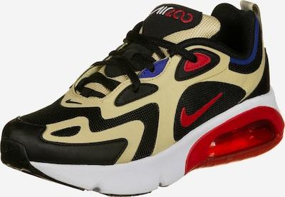 Nike Sportswear Schuhe ' Air Max 200 ' in beige / rot / schwarz, Produktansicht