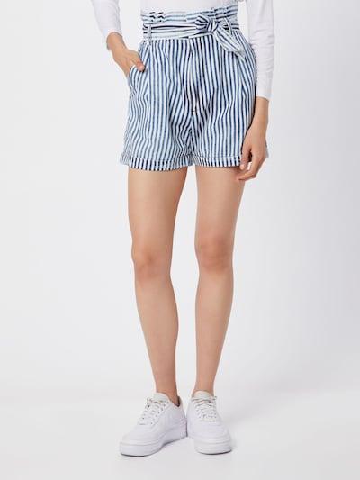 LTB Shorts 'DORLA' in blau / weiß, Modelansicht