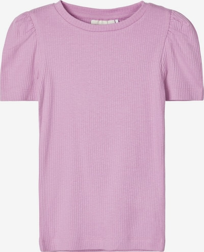 NAME IT Slim Fit Rippdesign T-Shirt in pastelllila, Produktansicht