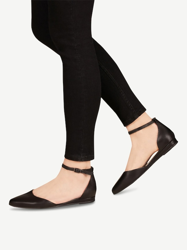 TAMARIS Ballerina in schwarz | ABOUT YOU