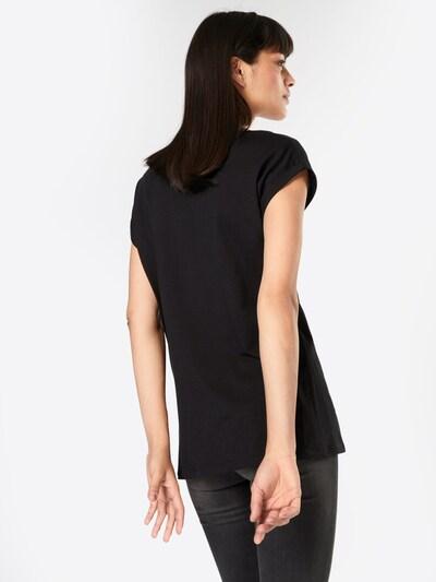 Iriedaily T-Shirt 'Evolution' in schwarz / weiß: Rückansicht