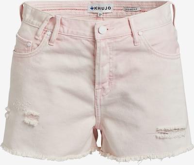 khujo Jeans 'Ulina' in de kleur Pastelroze, Productweergave