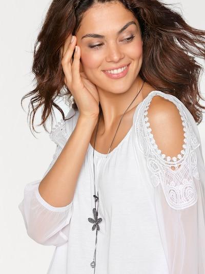 heine Blusenshirt in weiß, Produktansicht
