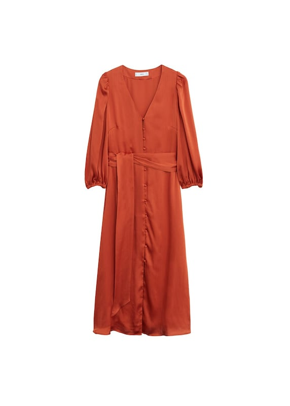 MANGO Kleid 'punti' in rot   ABOUT YOU
