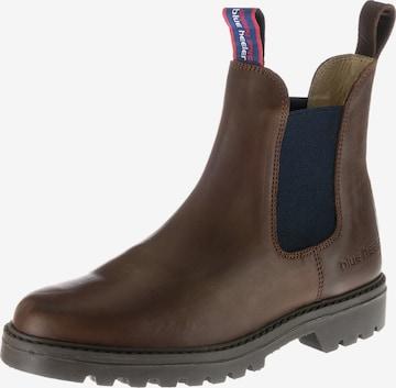 Blue Heeler Chelsea Boots 'Jackaroo' in Braun
