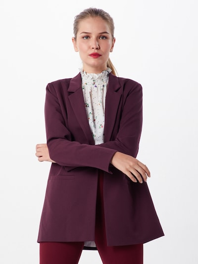 minimum Blazer 'Tara' in bordeaux, Modelansicht