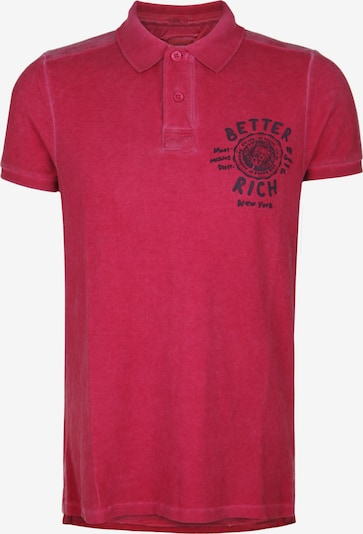 BETTER RICH Poloshirt UNIVERSITY in navy / rot, Produktansicht