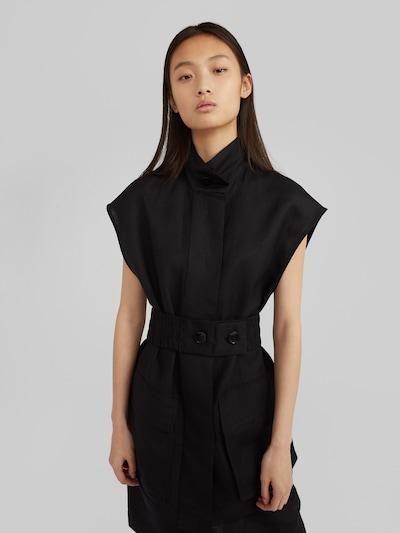 EDITED Weste  'Milou' in schwarz, Modelansicht