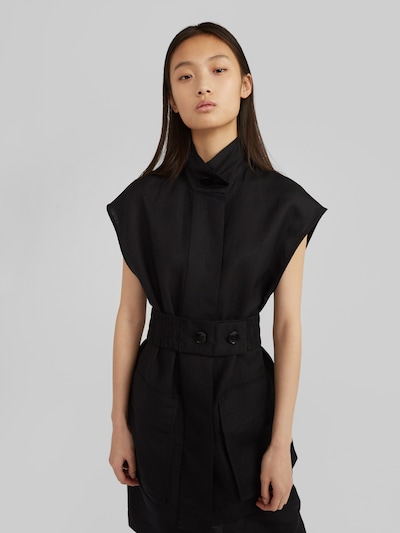 EDITED Vest 'Milou' must, Modellivaade