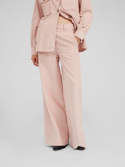 Kelnės 'Mako' iš EDITED , spalva - rožių spalva, Modelio vaizdas