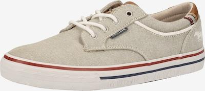 MUSTANG Sneaker in beige, Produktansicht