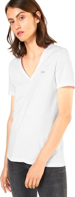 LACOSTE T-Shirt mit Label-Applikation