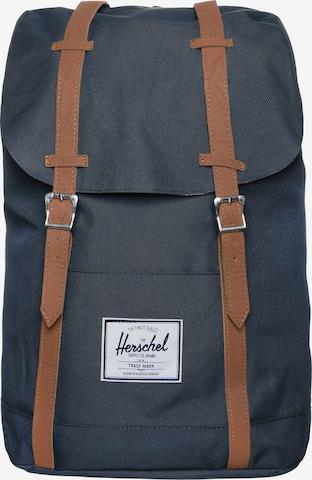 Herschel Backpack 'Retreat' in Blue