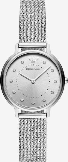 Emporio Armani Zegarek analogowy w kolorze srebrny / białym, Podgląd produktu
