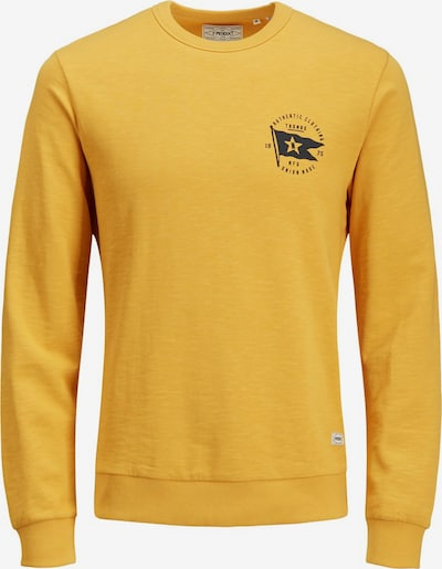 Produkt Sweatshirt in gelb, Produktansicht