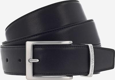 TOM TAILOR Ledergürtel in schwarz, Produktansicht