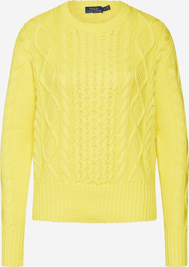 POLO RALPH LAUREN Pullover  'LS PO-LONG SLEEVE-SWEATER' in gelb, Produktansicht